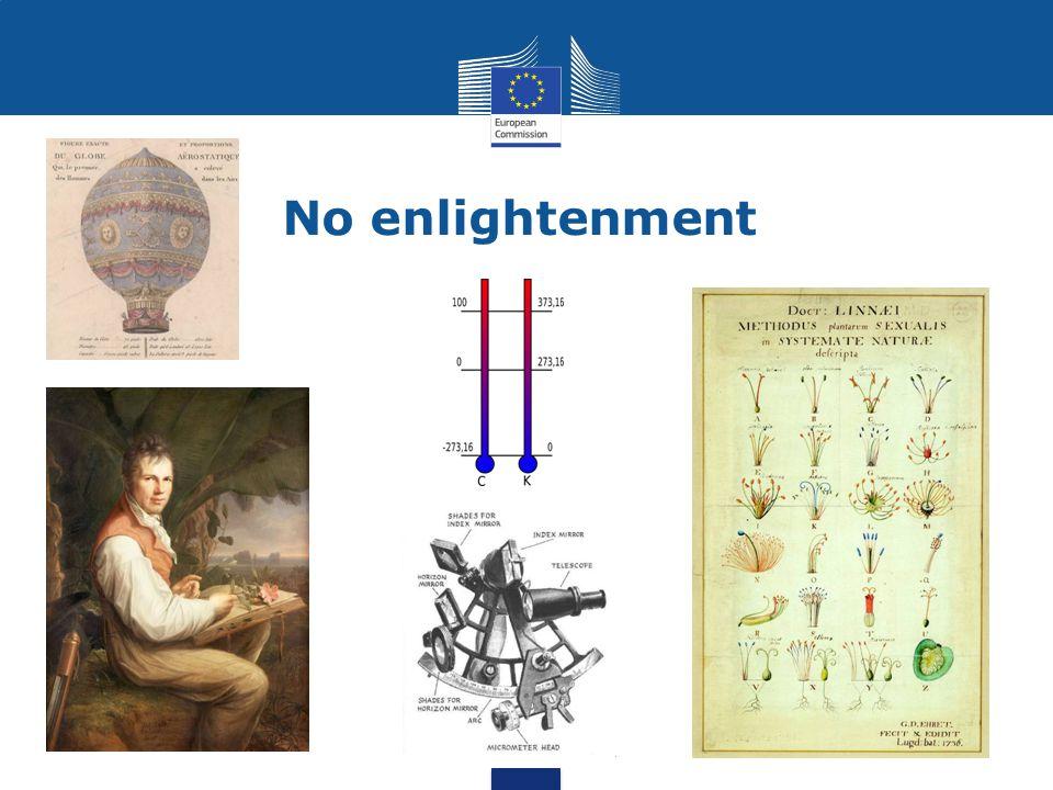 No enlightenment