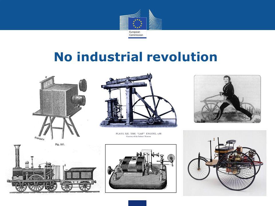 No industrial revolution