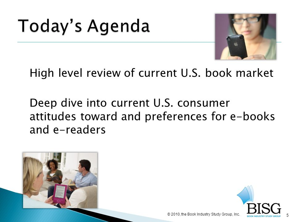 36 © 2010, the Book Industry Study Group, Inc.