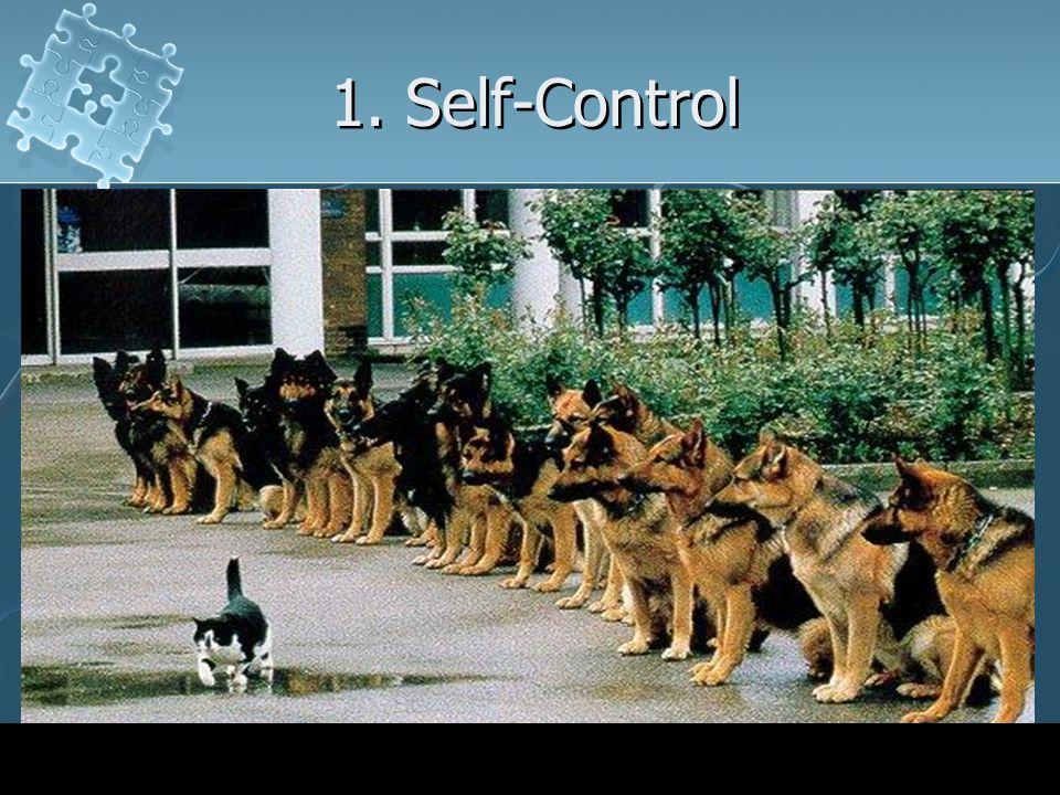 1. Self-Control
