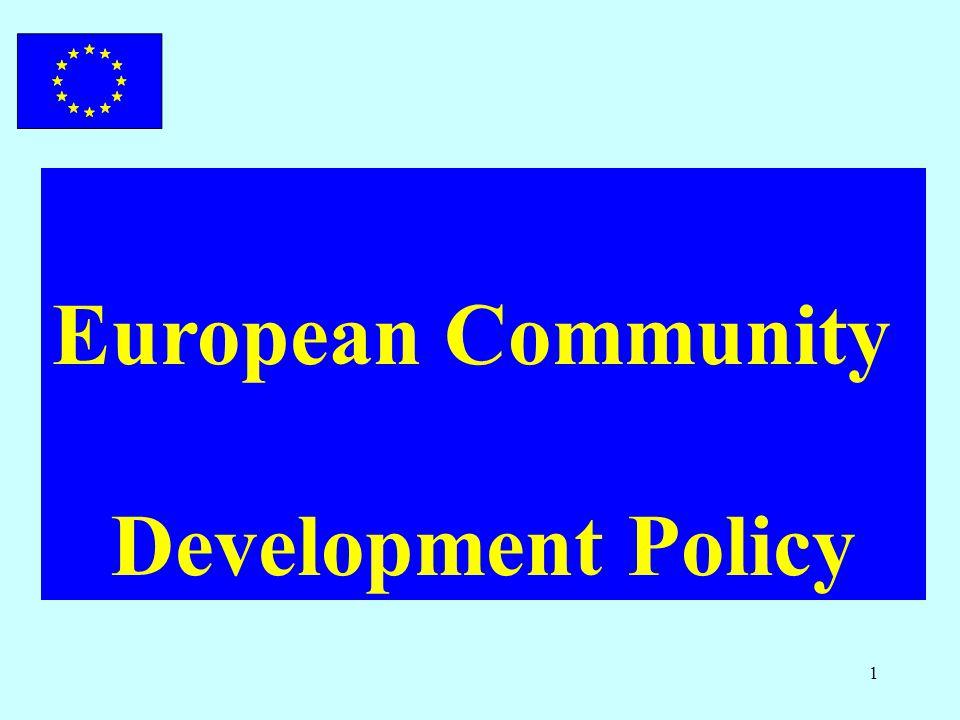 1 European Community Development Policy