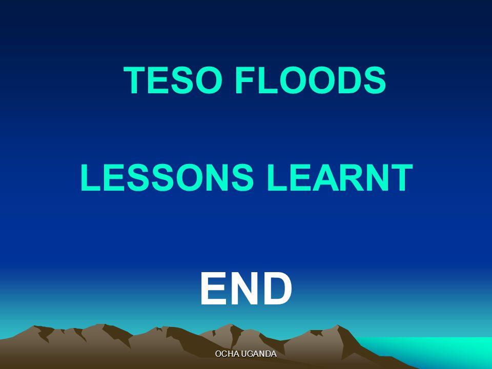 OCHA UGANDA TESO FLOODS LESSONS LEARNT END