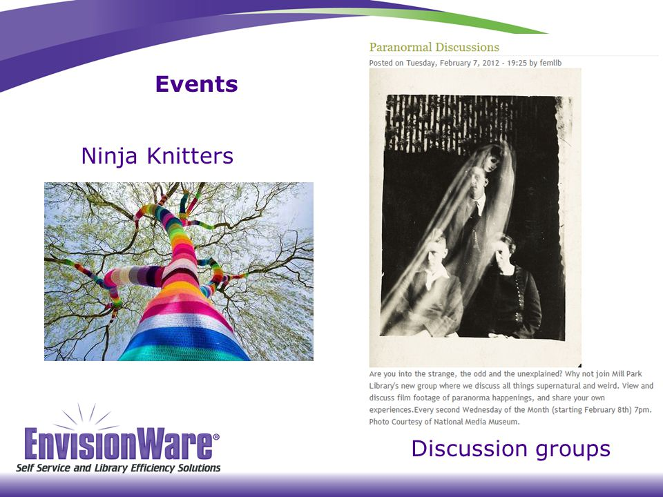 Events Ninja Knitters Discussion groups
