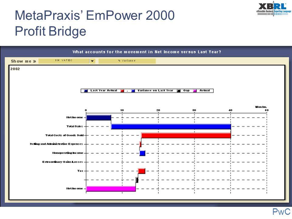 PwC MetaPraxis' EmPower 2000 Profit Bridge