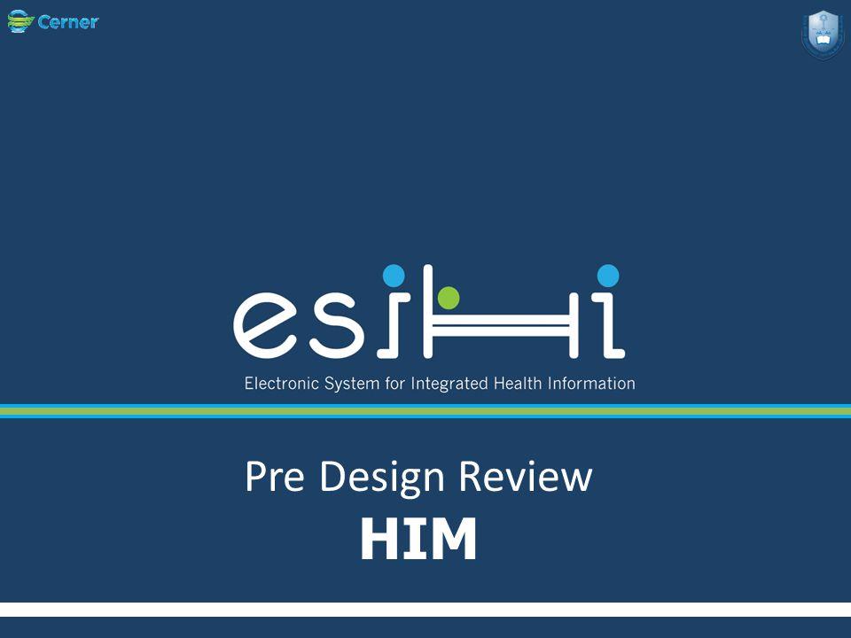 Pre Design Review HIM