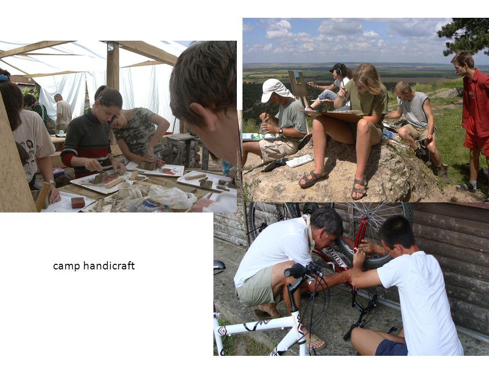 camp handicraft