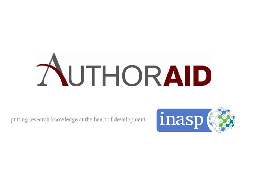 AuthorAID: A Meta-Resource www.authoraid.info