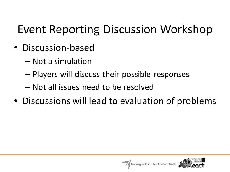 Debriefing and Evaluation