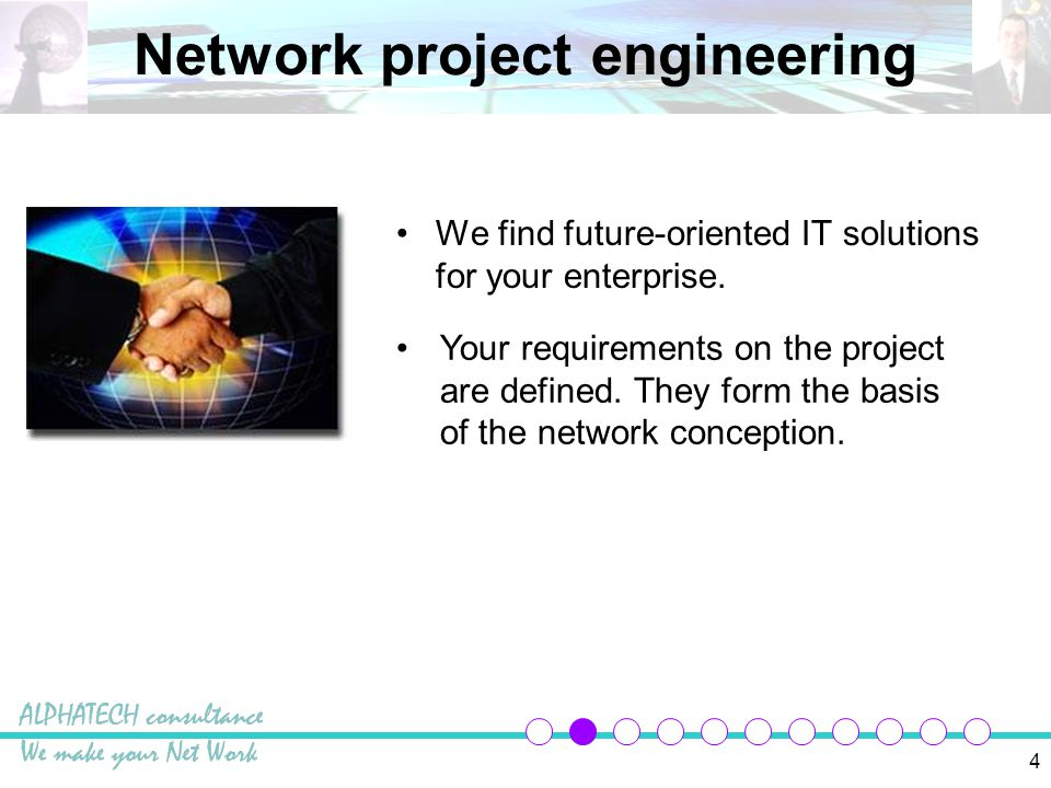 5 Project solution We concept networks for health production small and medium sized companies other industries...