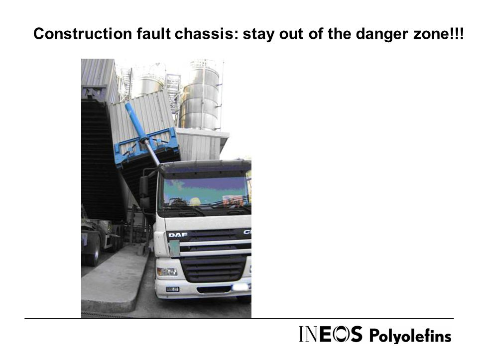 Construction fault chassis: stay out of the danger zone!!!
