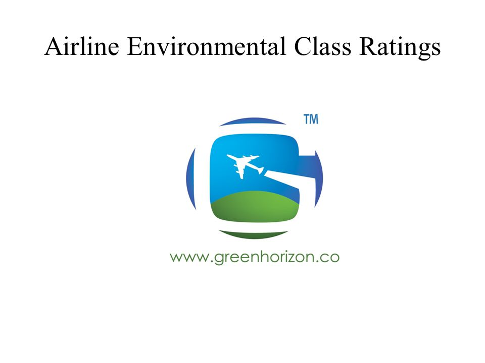 Airline Environmental Class Ratings