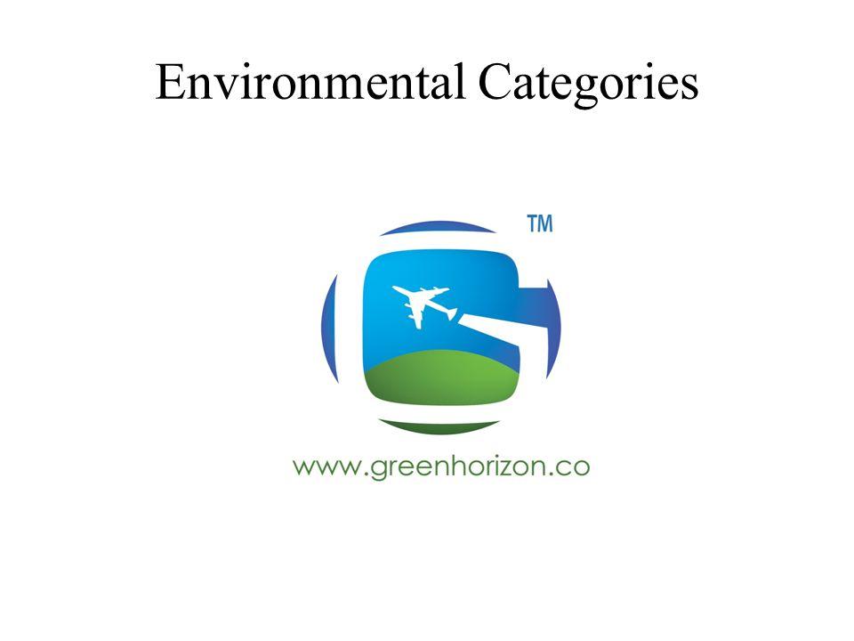 Environmental Categories