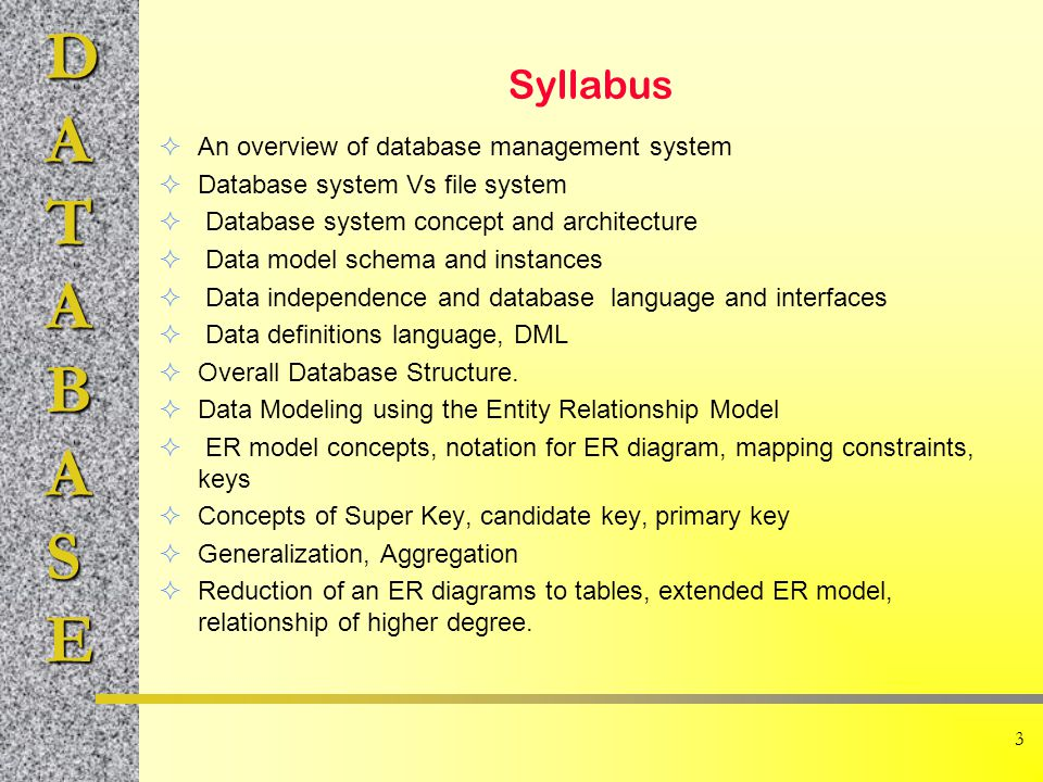 DATABASE 4 Stages of Information System  Stage 0: Manual Information System Records Files Index Cards  Stage 1: Sequential Information Systems Tapes Files slow, non-interactive, redundancy,....