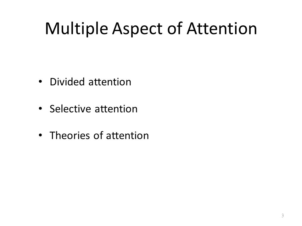 Divided Attention 4