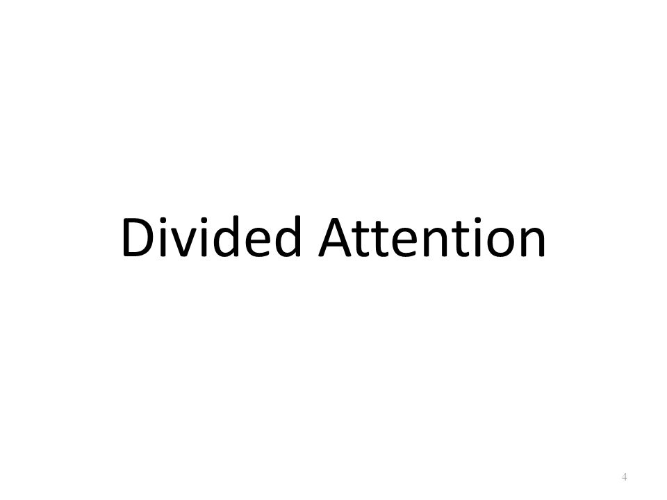 5 Reinitz & Colleagues (1974) Divided Attention Condition Subjects count the dots Full Attention Condition No instruction about dots