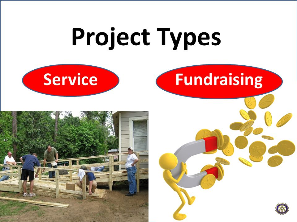 Fundraising Project Types Service