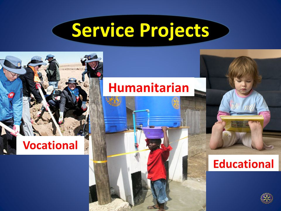 Service Projects Educational Vocational Humanitarian