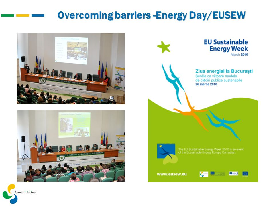 Overcoming barriers -Energy Day/EUSEW