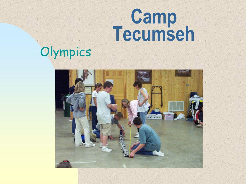 Camp Tecumseh Olympics