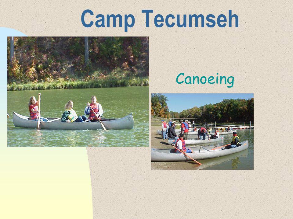 Camp Tecumseh Canoeing