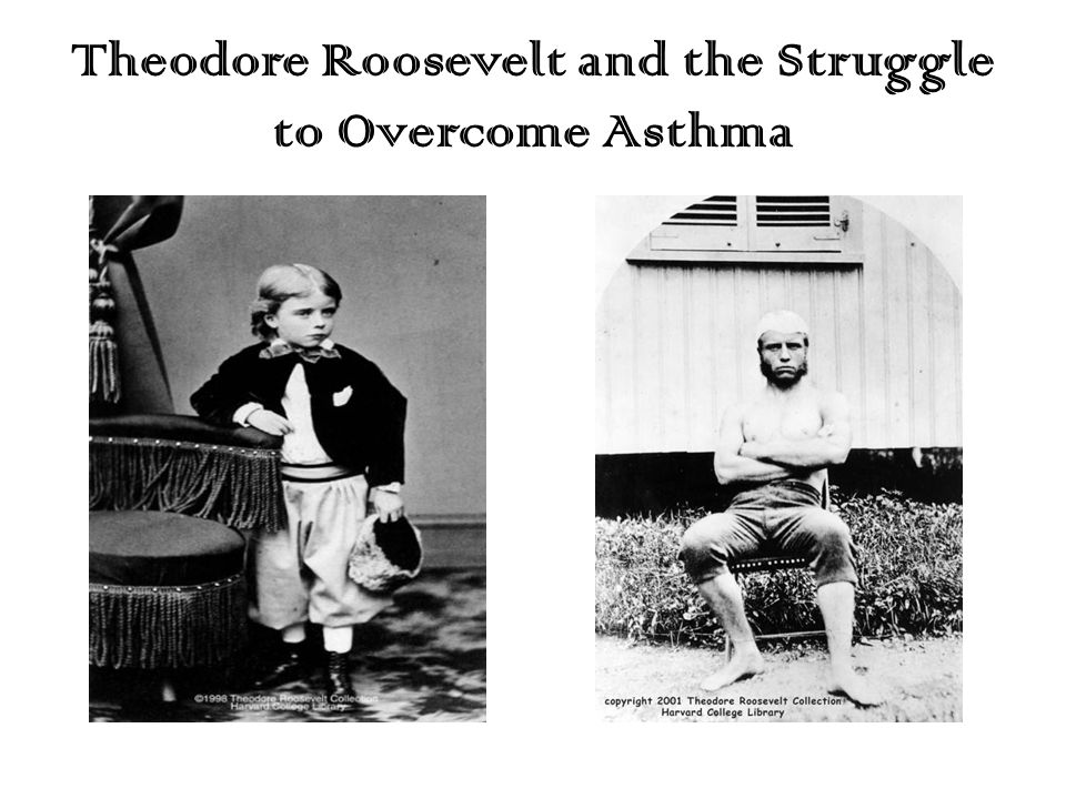 Theodore Roosevelt and the Struggle to Overcome Asthma