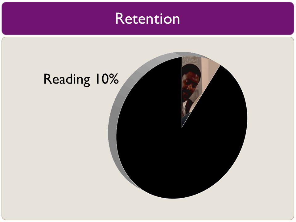 Reading 10% Retention