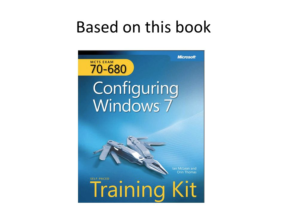 Ch 1 Install, Migrate, or Upgrade to Windows 7