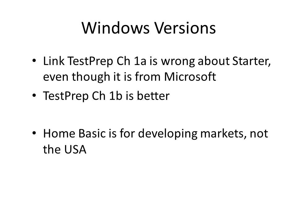 Lesson 2: Upgrading to Windows 7 Upgrading from Windows 7 Editions Upgrading from Windows Vista Migrating from Windows XP