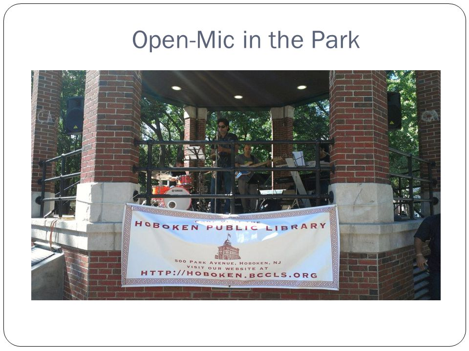 Open-Mic in the Park