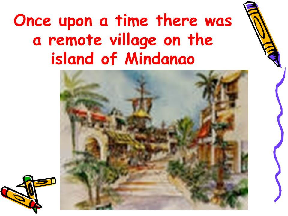 This beautiful quiet village was struck by a fierce typhoon that destroyed the village uprooting one of its banana palms