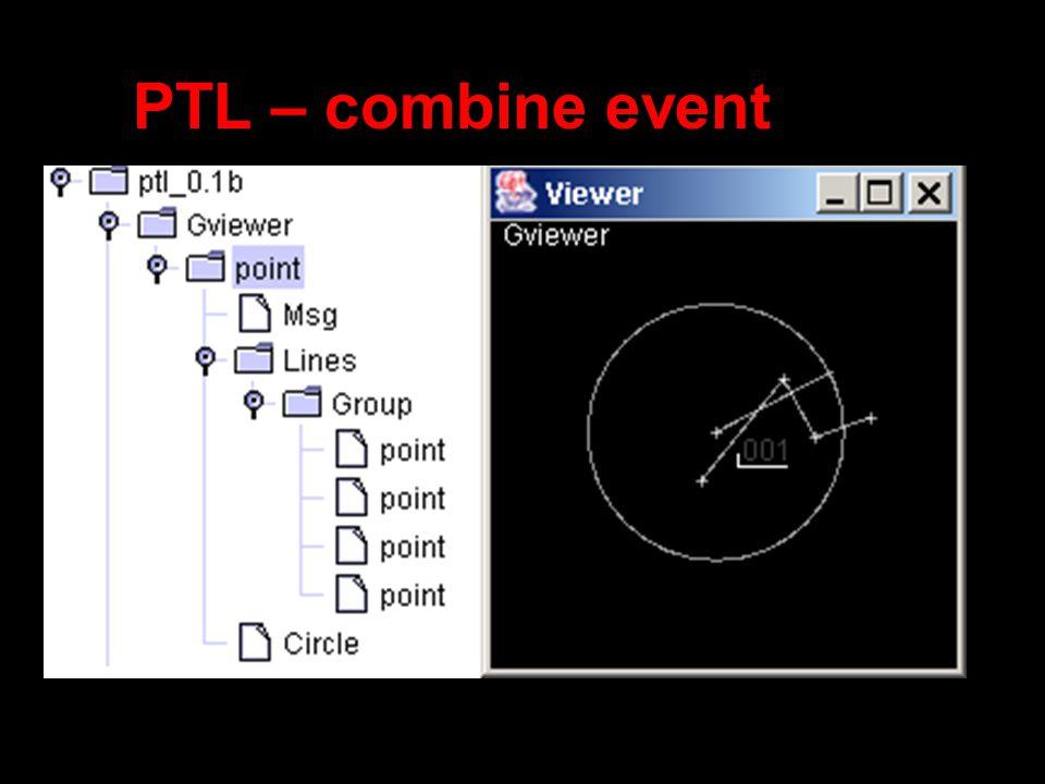 PTL – combine event