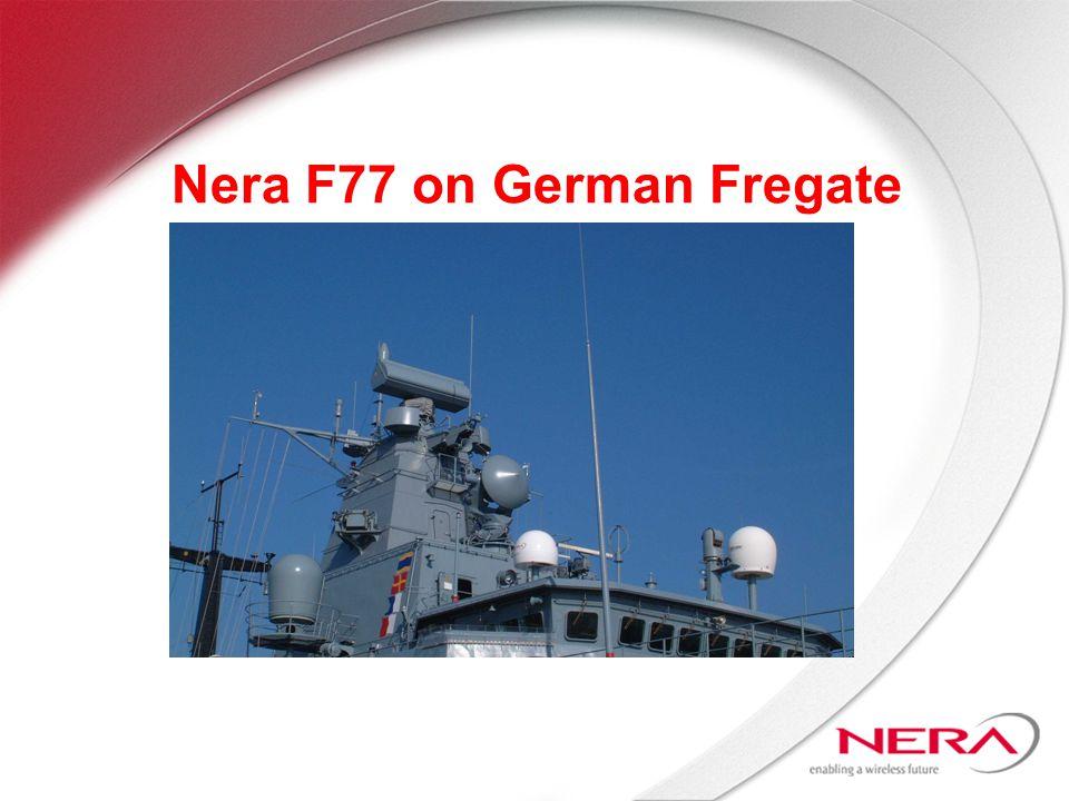 Nera F77 on German Fregate