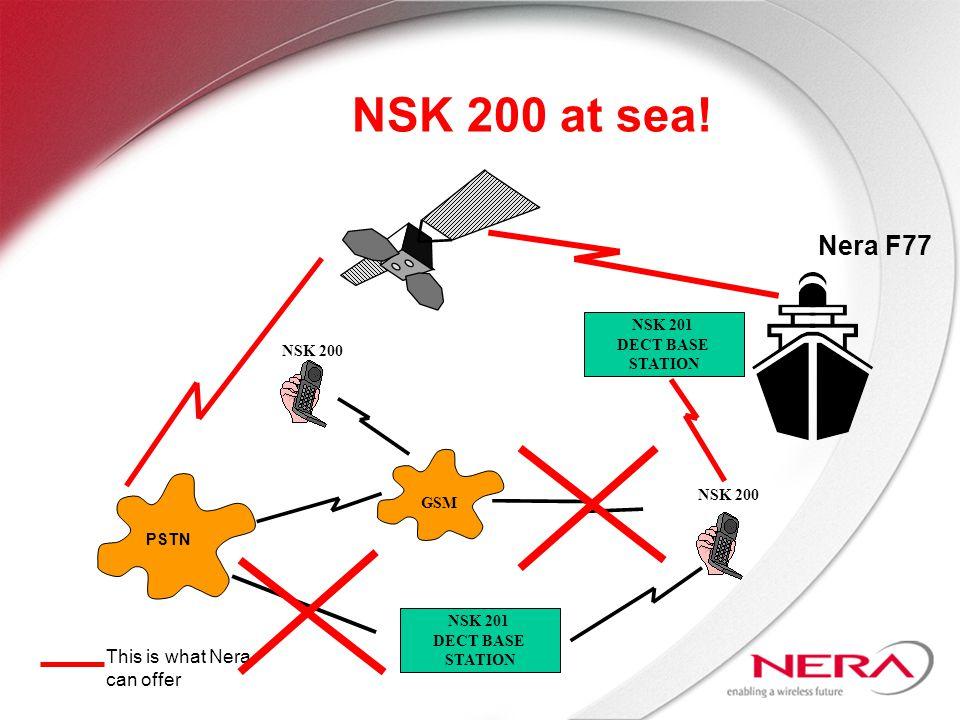 PSTN NSK 201 DECT BASE STATION GSM NSK 200 NSK 200 at sea.