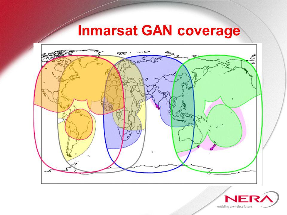Inmarsat GAN coverage