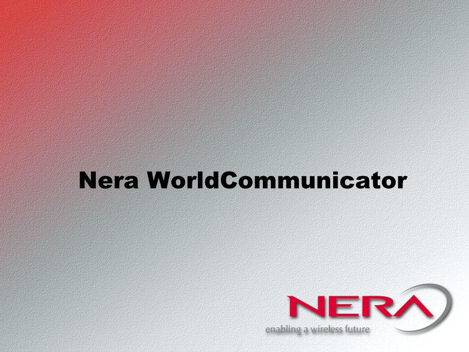 Nera WorldCommunicator