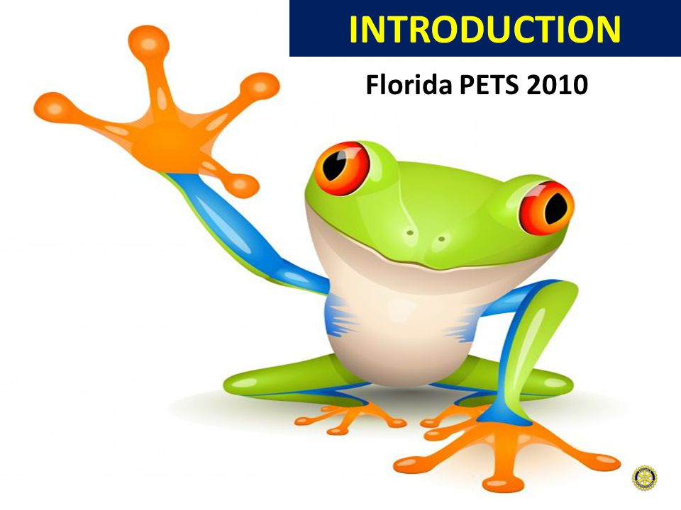 INTRODUCTION Florida PETS 2010