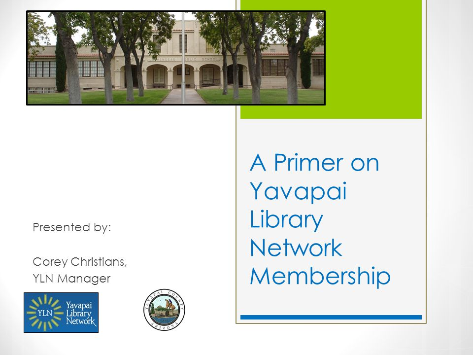 What is the Yavapai Library Network (YLN).