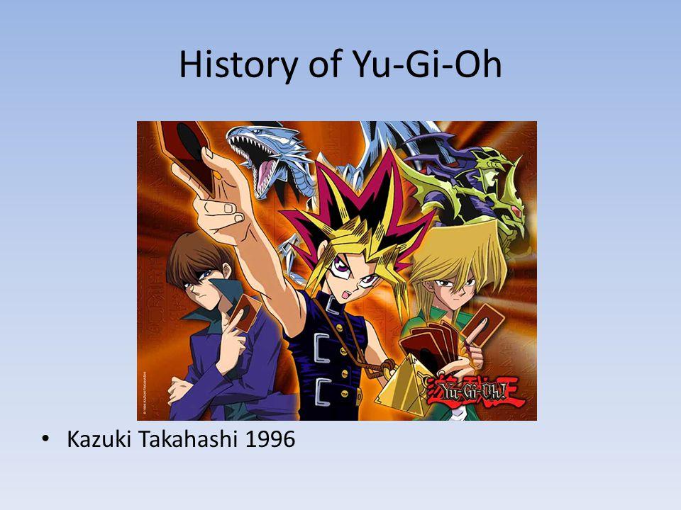 History of Yu-Gi-Oh Kazuki Takahashi 1996