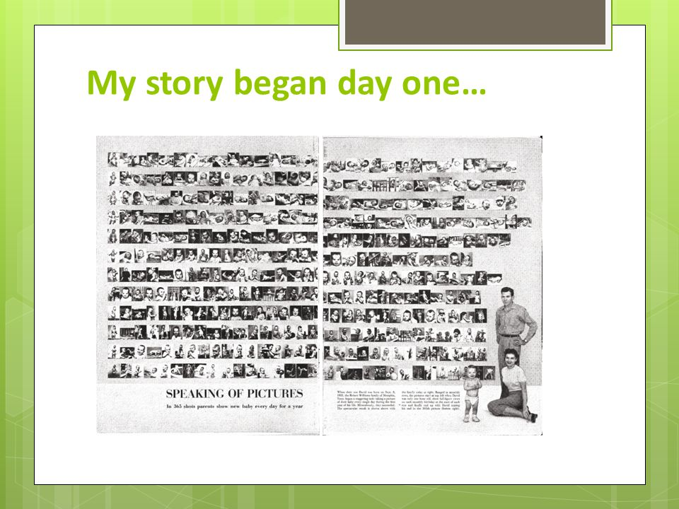 My baby story…