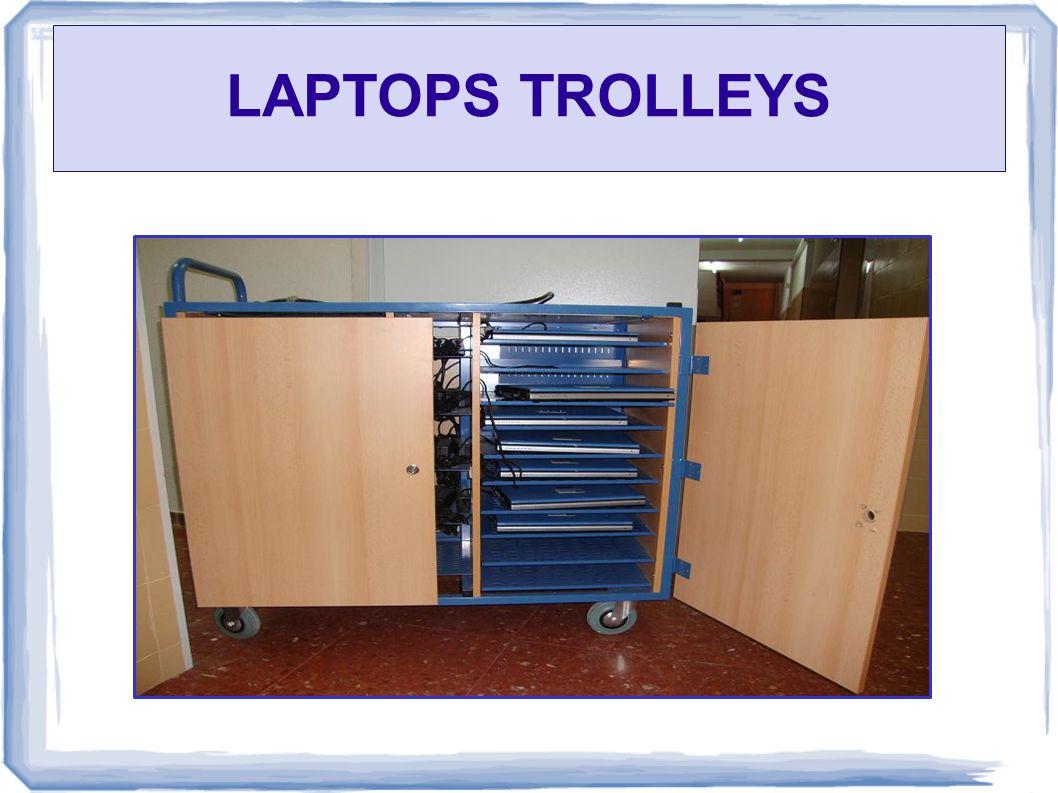 LAPTOPS TROLLEYS