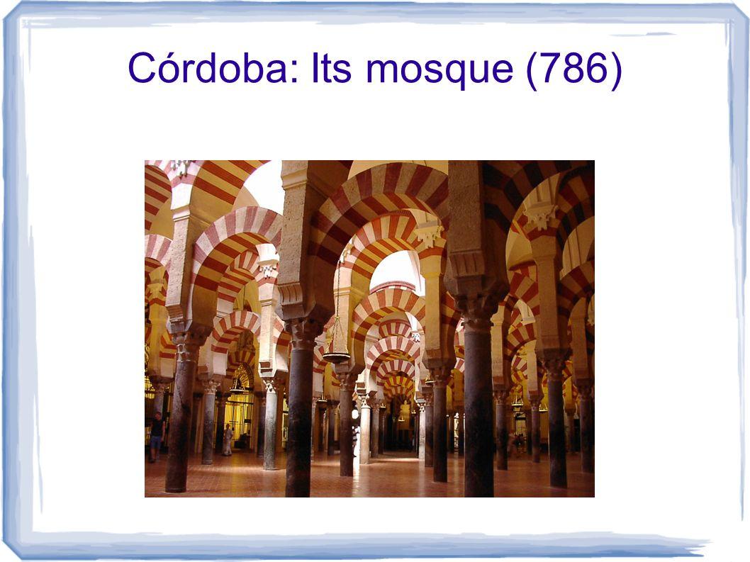 Córdoba: Its mosque (786)