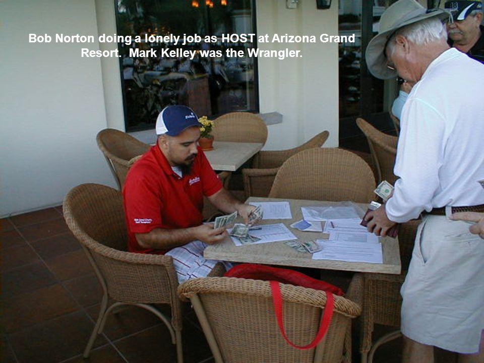 Arizona Grand Resort – June 2009 Scott Pogue won low gross and Dan Zientek won low net.
