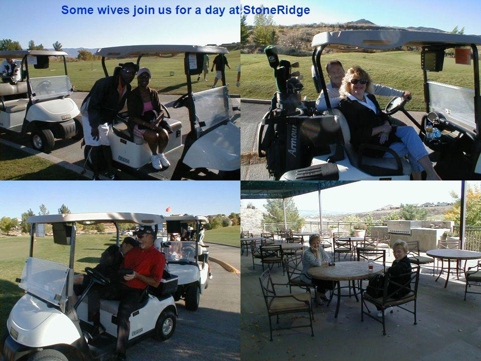 Glen Malunis and Jess Rodriquez doing an outstanding job as HOSTS at StoneRidge October 2009.