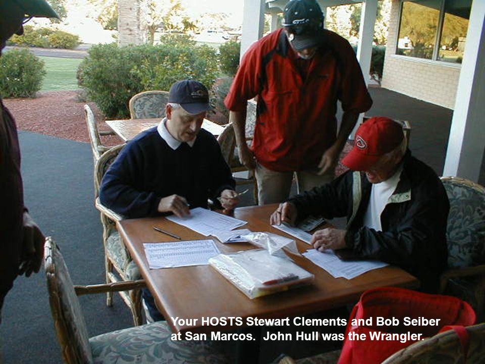 1 San Marcos - January 2009 Tom Drake was low gross winner and Dale McGillan was low net winner.
