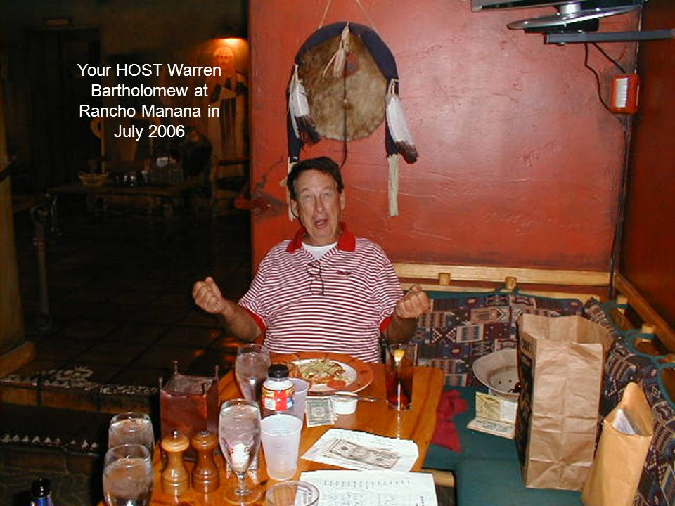 Glen Malunis did a wonderful job as HOST at Ocotillo in July 2006. John Keller won low net.