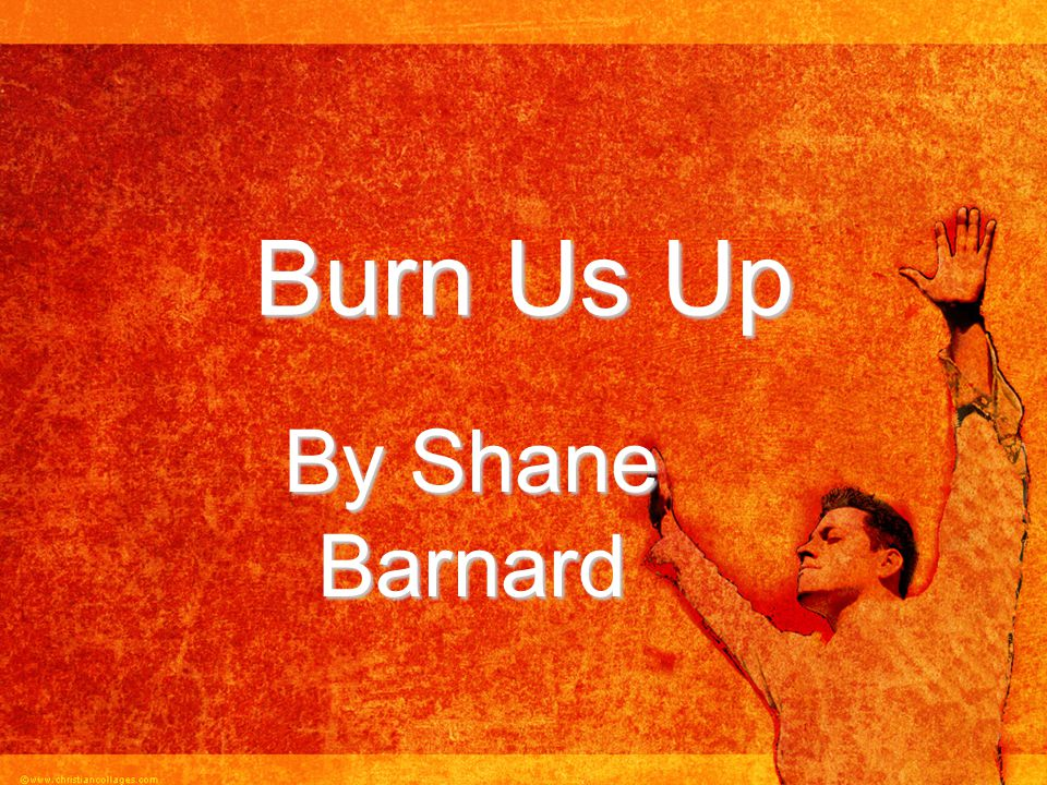 Burn Us Up By Shane Barnard