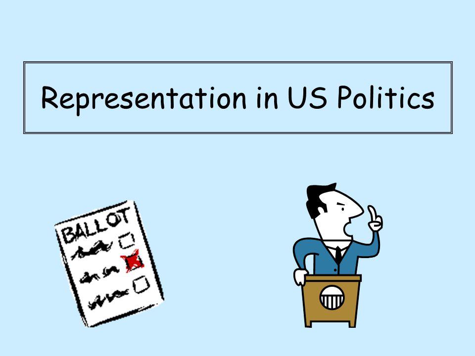 Representation in US Politics