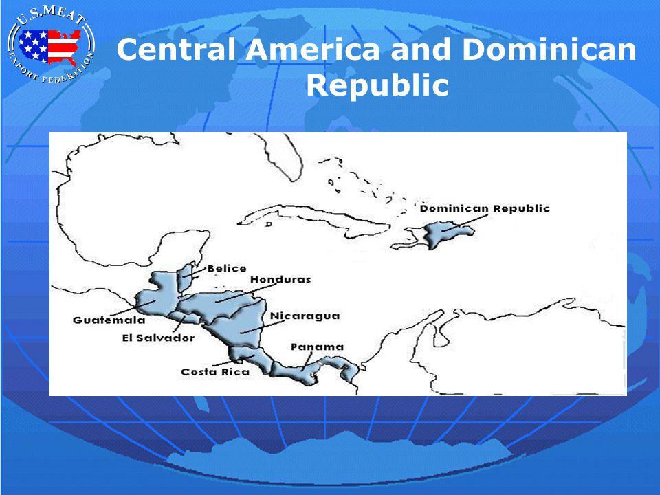 Central America and Dominican Republic