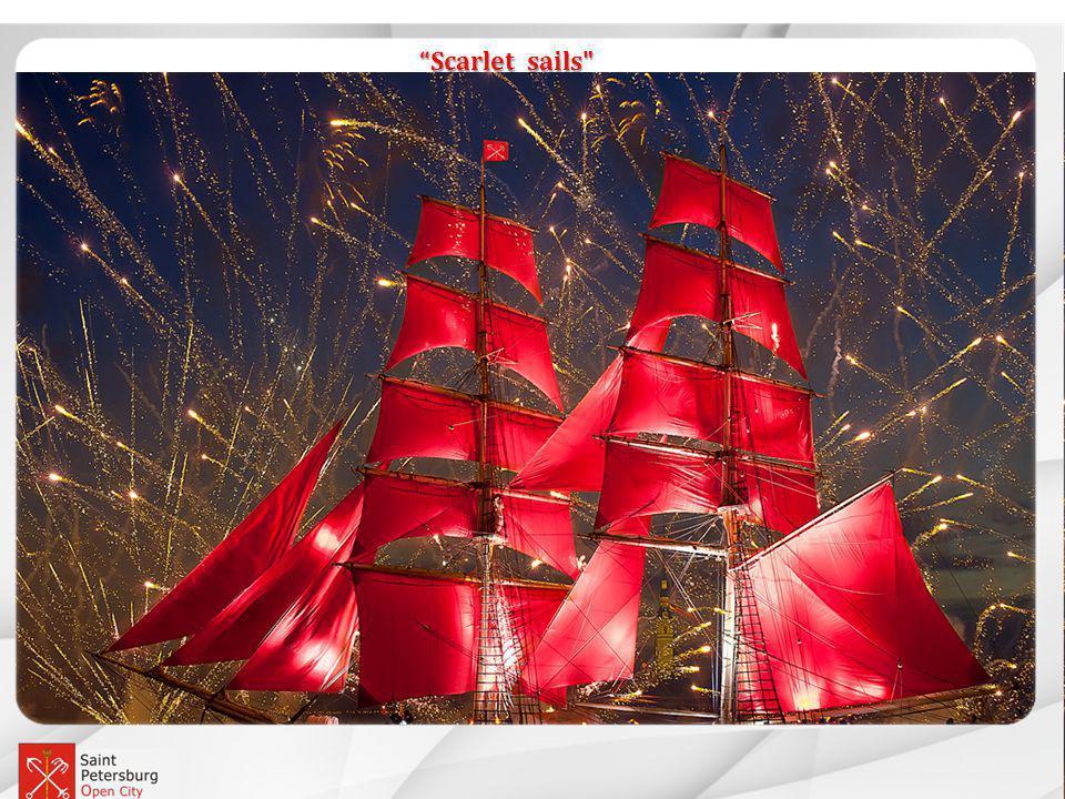 Event Petersburg Scarlet sails Scarlet sails