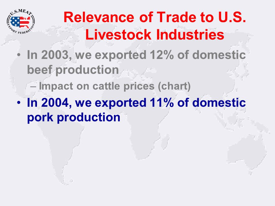 Key U.S. Beef Markets - BSE